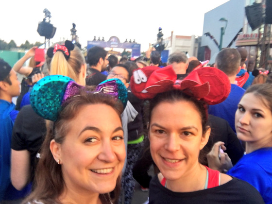 Ariel & the Sweeper Girls: A Disneyland Paris Half Marathon Race Recap